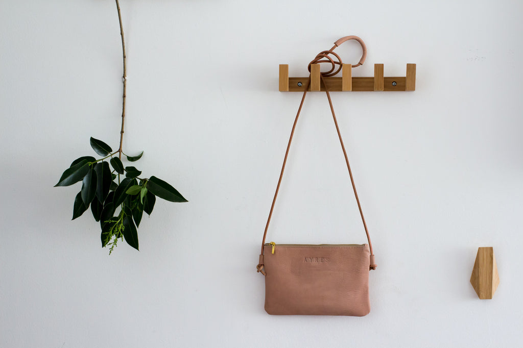Leather Crossbody - More colors available