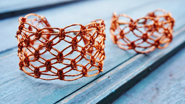 Queen Copper Bracelet