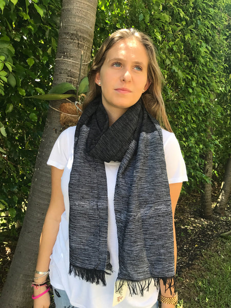 Cabo Scarf - Black Sand