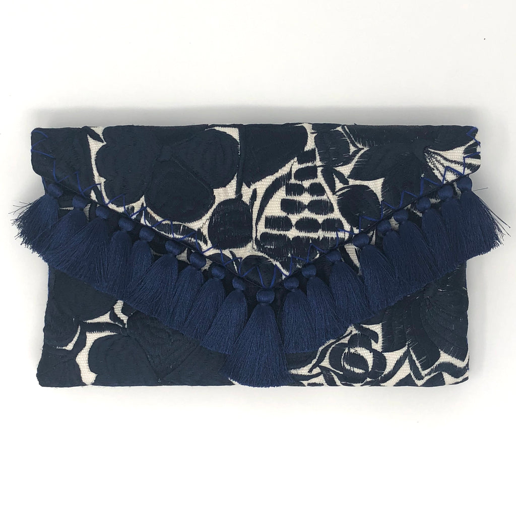 Embroidered Clutch - More colors available