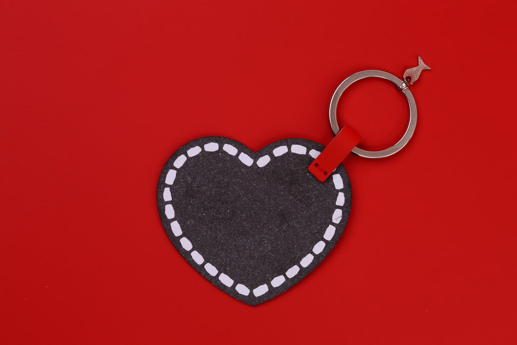 Black Heart Key Holder