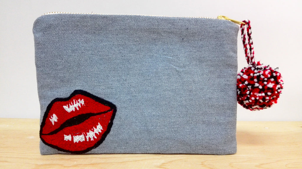 Cosmetic Bag - PopArt Hot Lips