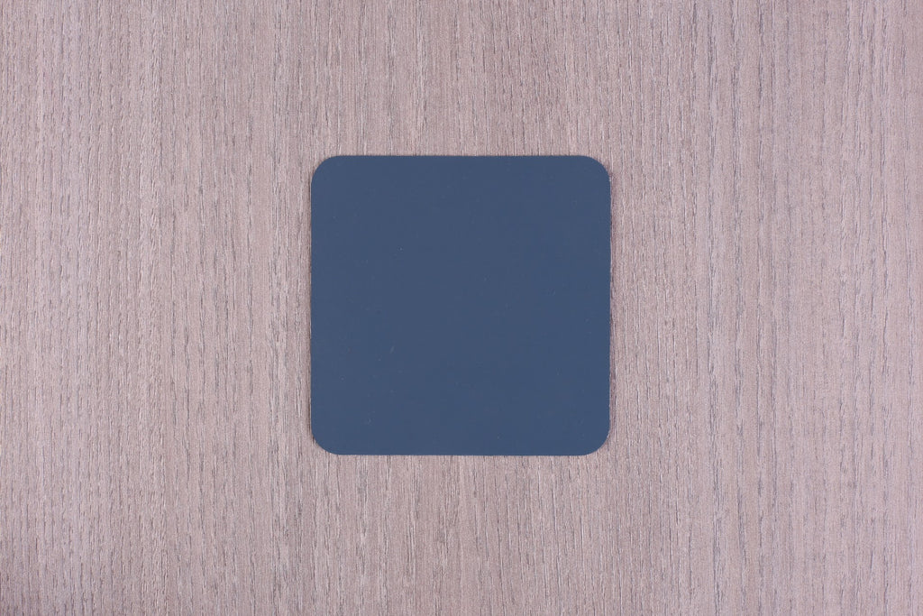 Leather Square Coasters - Set of 4
