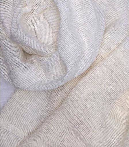 Cabo Scarf White Sand