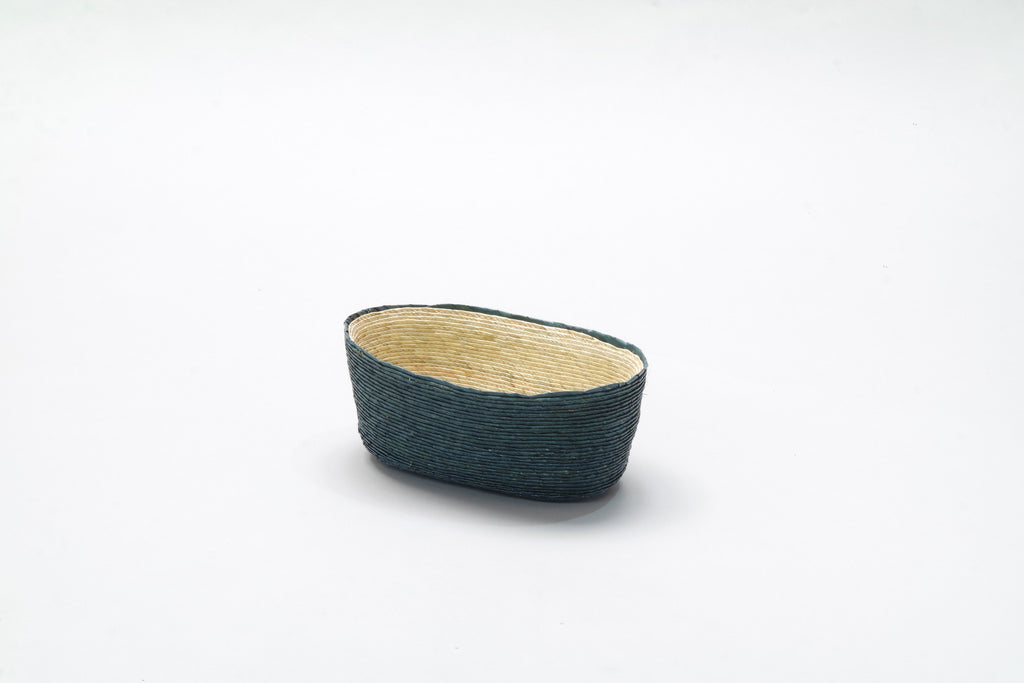 Oval Basket - Teal