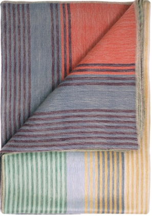 Brushed Alpaca Throw - Spectrum
