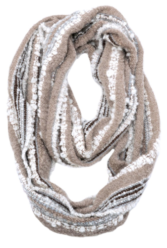 Infinity Alpaca Scarves - Boucle - Mineral