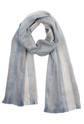 Brushed Alpaca Scarves - Polar Drift