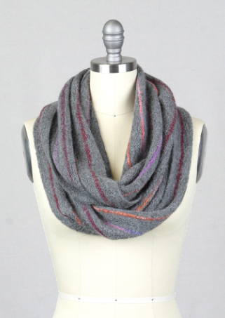 Infinity Cayama Scarves - Berry