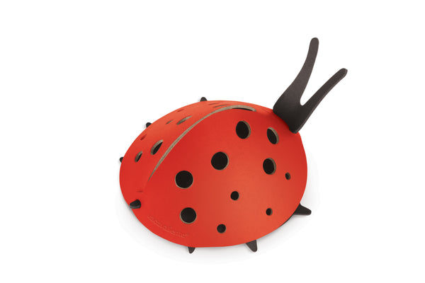 Leather Ladybug - Red