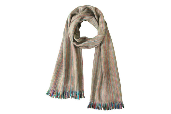 Brushed Alpaca Scarves - Champagne