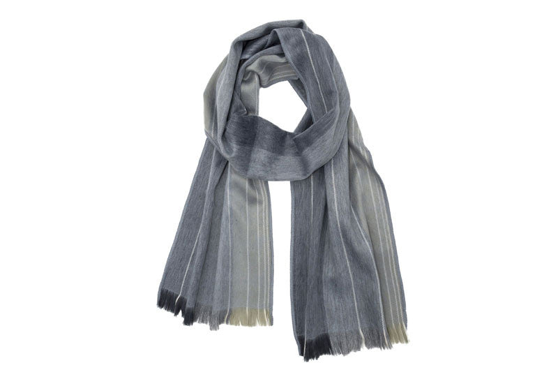 Brushed Alpaca Scarves - Quarry