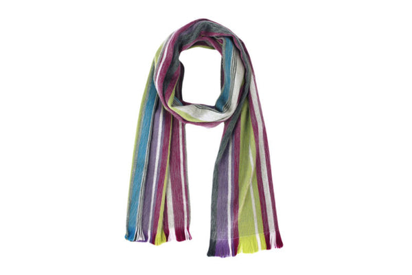 Brushed Alpaca Scarves - Metro
