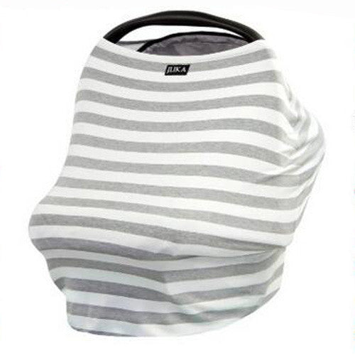 Baby Car Seat Canopy & Nursing Cover Multi-Use Stretchy