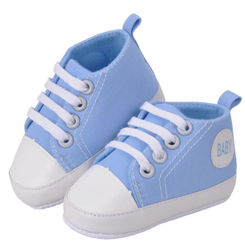 Baby Sneakers Boy / Girl Soft Bottom First Walkers - Blue