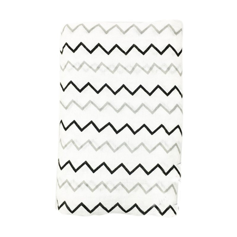 Muslin Cotton Baby Swaddle For Newborn Baby - ZigZag