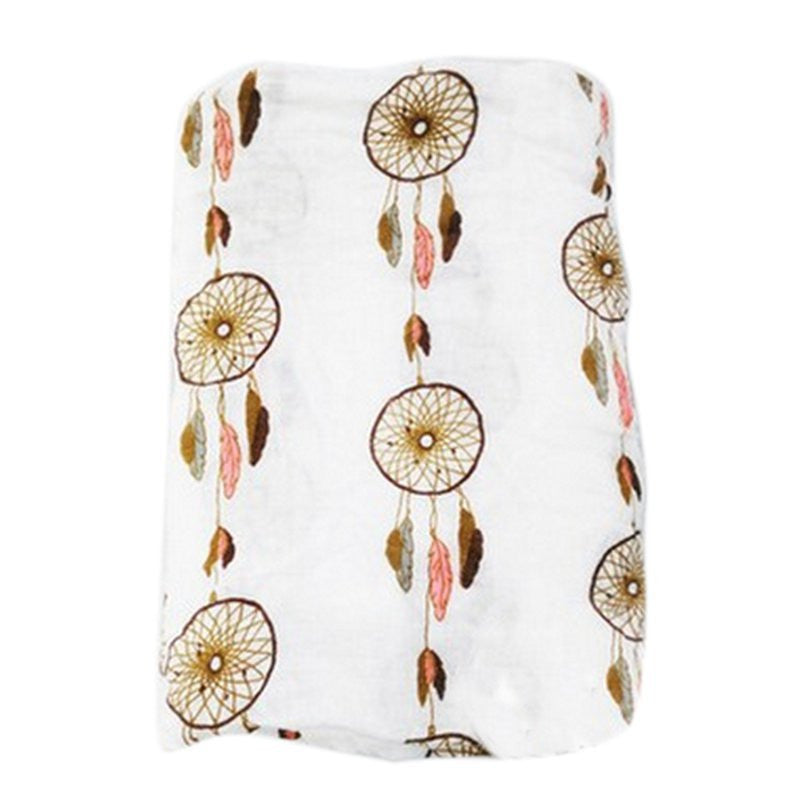 Muslin Cotton Baby Swaddle For Newborn Baby - Dream Catcher