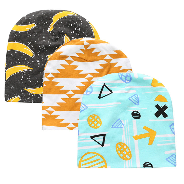 3pcs/ bag Unisex-Baby Newborn Cotton Hat / Cap