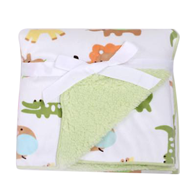 Luxurious Soft Fleece Baby Blanket - Animal