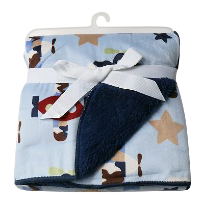 Luxurious Soft Fleece Baby Blanket - Airplanes