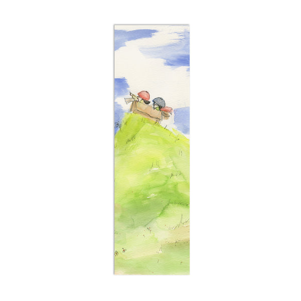 We Are Adventurers Canvas Bookmark