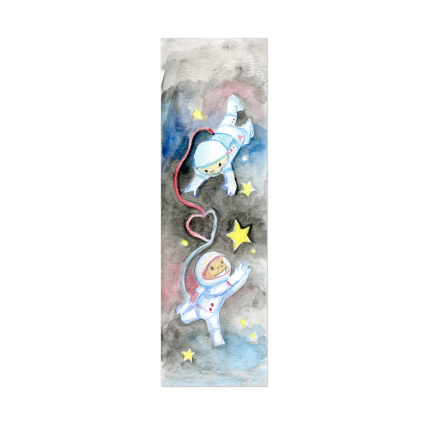 Cosmonaut Canvas Bookmark