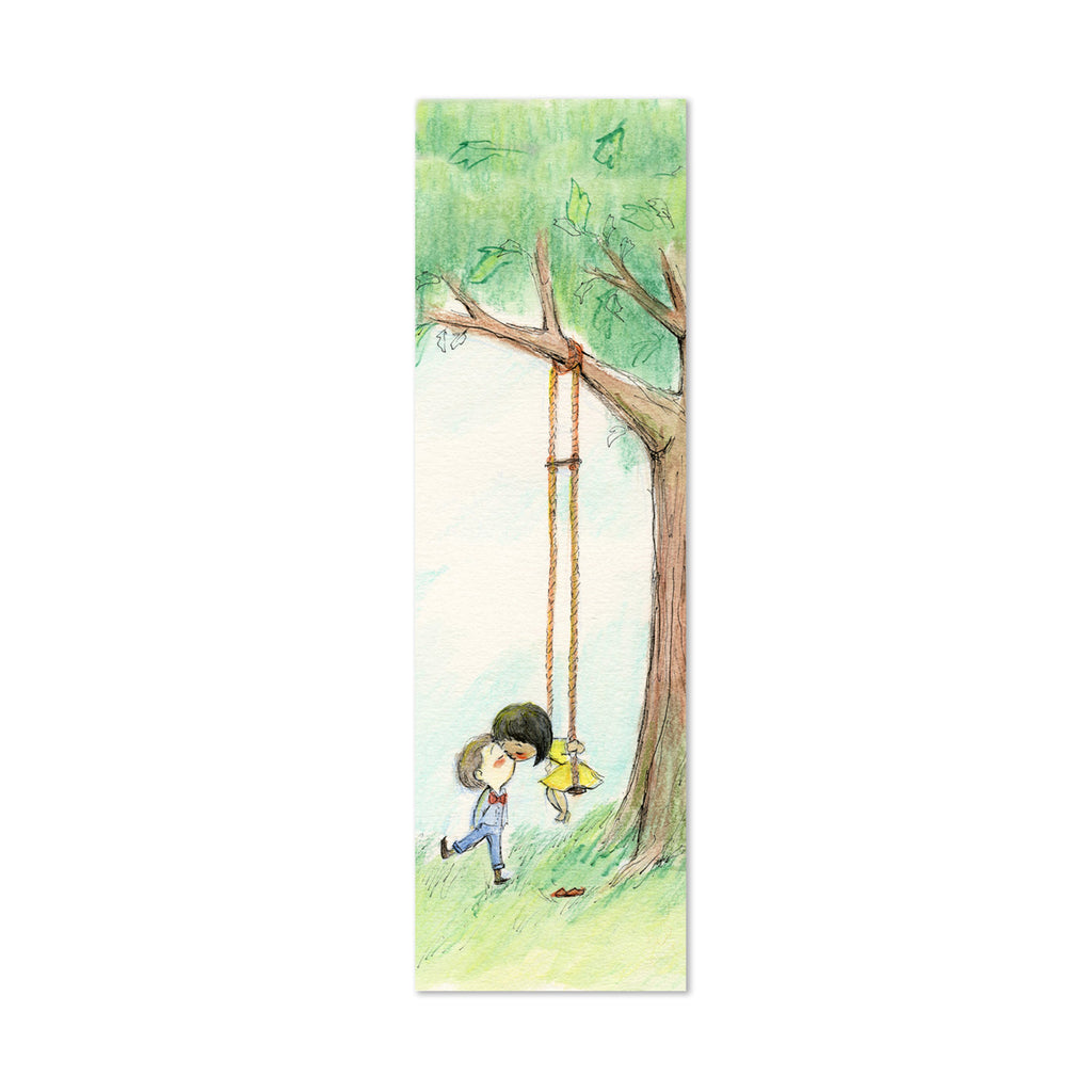 You Make My Heart Swing Canvas Bookmark