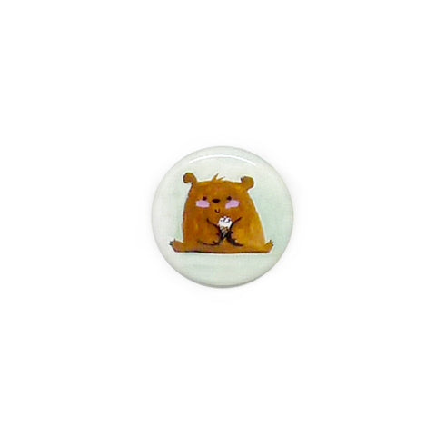 Ice Cream Bear Button/Magnet