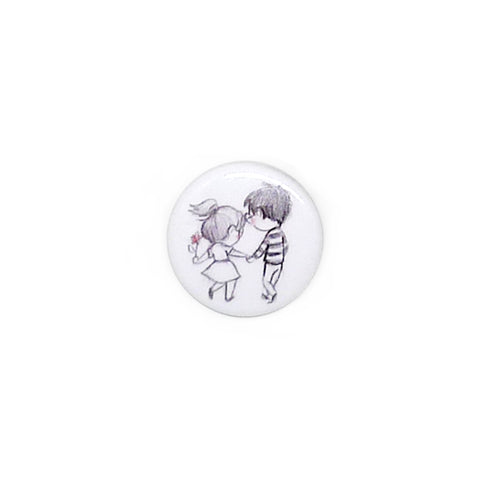 Let's Stroll Button/Magnet