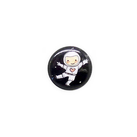Cosmonaut Button/Magnet