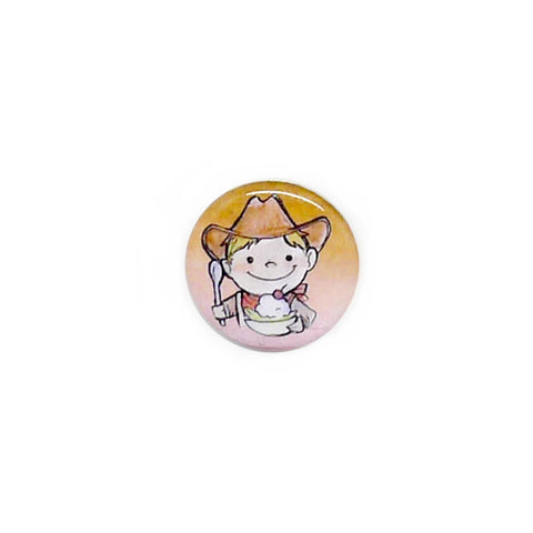 Cowboy Button/Magnet