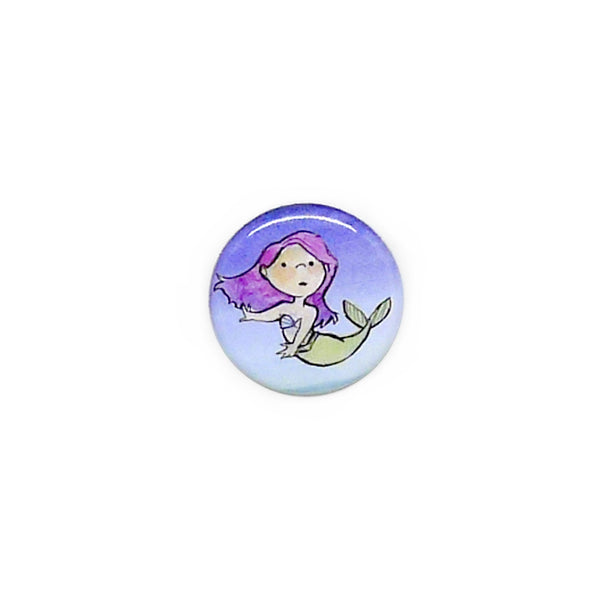 Mermaid Button/Magnet