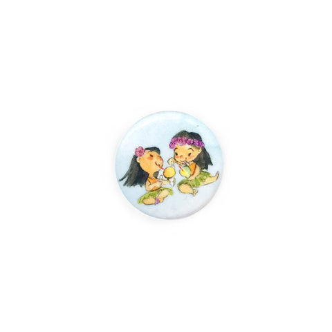 Shaved Ice Girls Button/Magnet