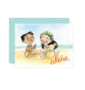 Aloha Music Greeting Card