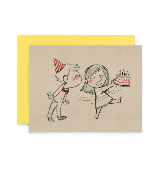 Birthday Mischief Greeting Card
