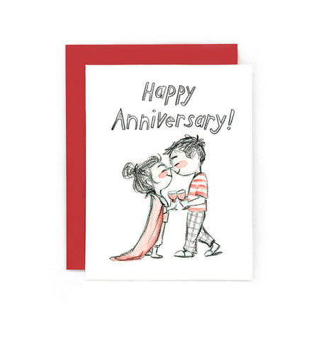 Anniversary PJs Greeting Card