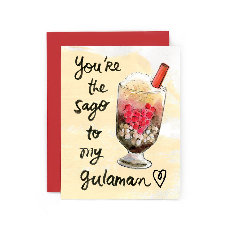 Sago to My Gulaman Card