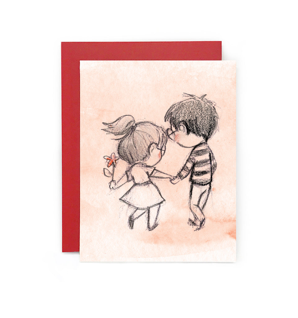 Let's Stroll Greeting Card