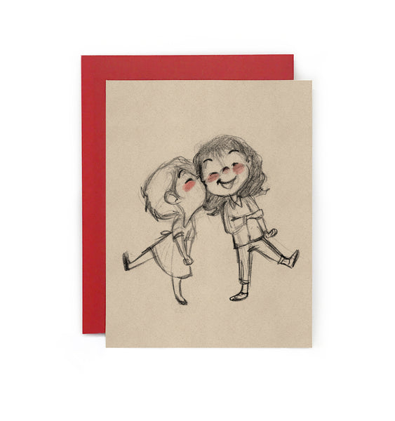 Sweet Kisses Greeting Card