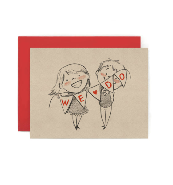We Do Wedding Card