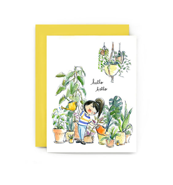 Hello Hello Plants Card