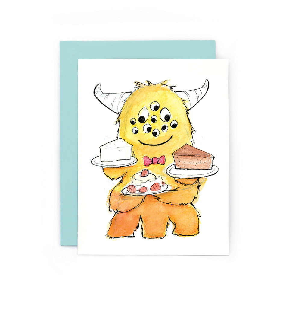 Monster Sweet Tooth Cards