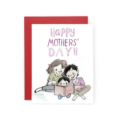 Happy Mothers' Day Greeting Card