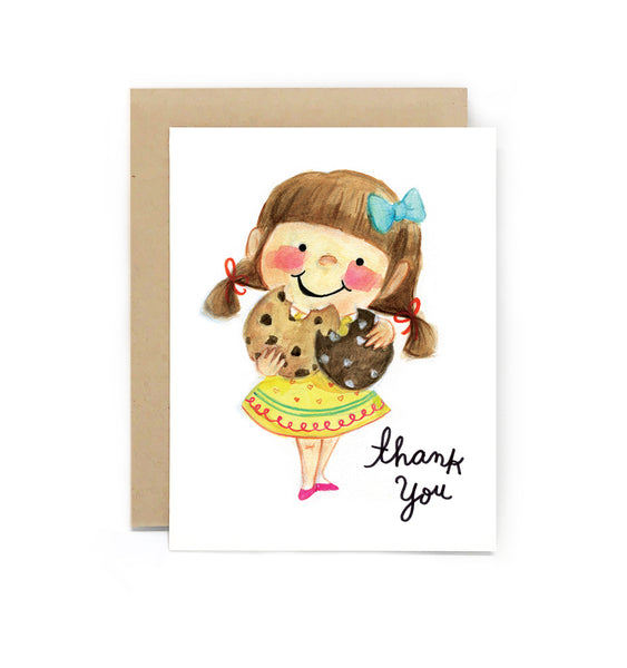 Sweet Tooth Cookie Thank You Card