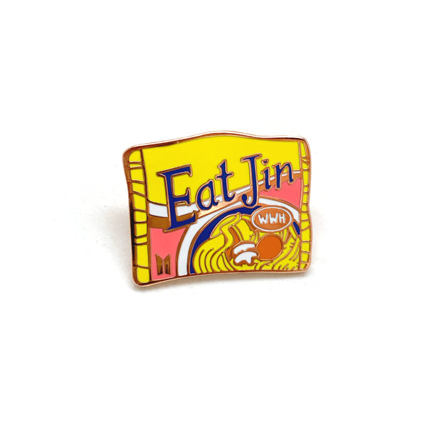 Eat Jin Enamel Pin