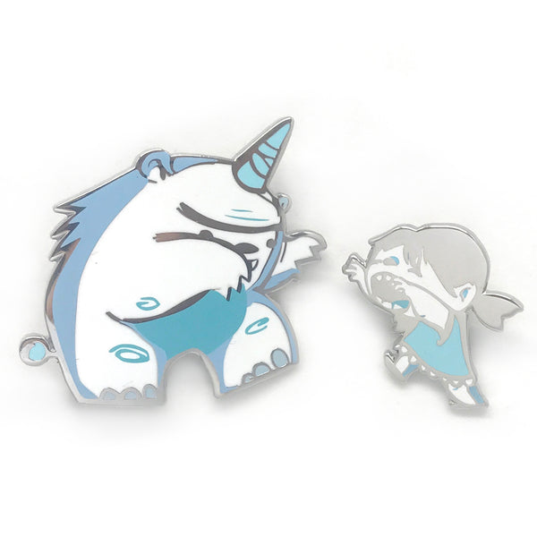 Rawr Enamel Pin Set