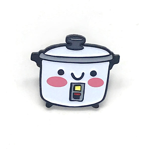 Rice Cooker Enamel Pin