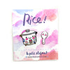 Rice Cooker and Paddle Enamel Pin Set
