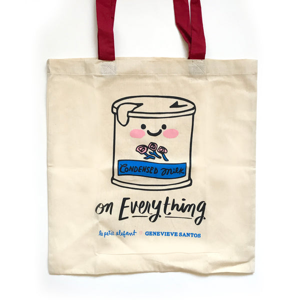 Condensed Milk Tote Bag