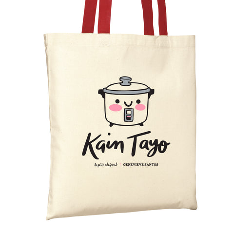 Kain Tayo Rice Cooker Tote Bag